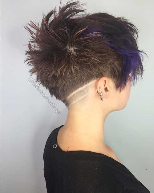 Adorável e elegante hort Cortes de cabelo para Meninas