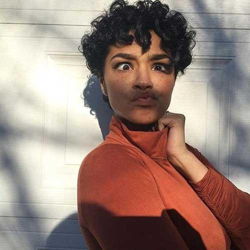 Diferente corte de cabelo curto ideias para mulheres negras