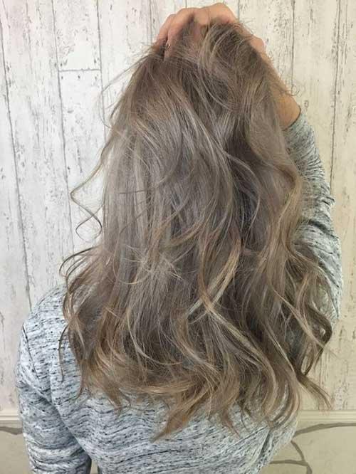 A mais elegante cores de cabelo para o inverno
