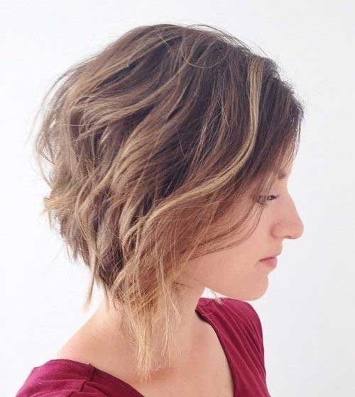 Realmente Elegante Curto Bob Cortes de cabelo para Mulheres