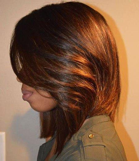 O melhor penteado bob ideias para mulheres negras
