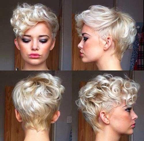 Diferentes loira cores de cabelo para mulheres