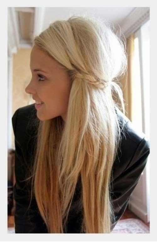 O melhor look de inverno com o cabelo reto