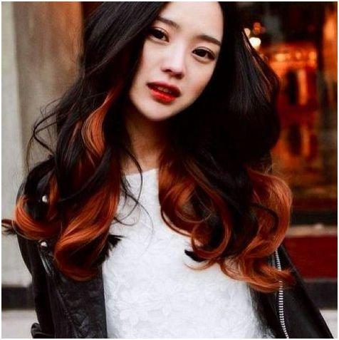 Morango a cor do cabelo loiro imagens
