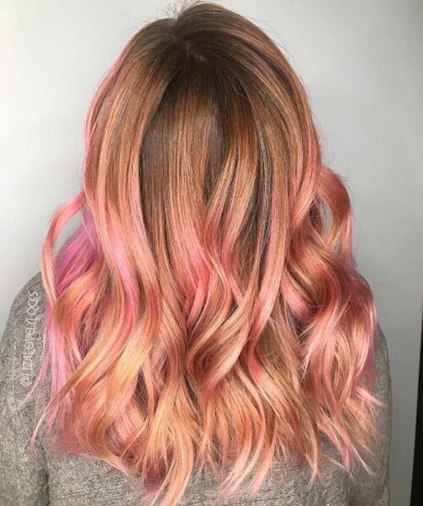 53 Deslumbrante Do Ouro De Rosa Do Penteado Ideias