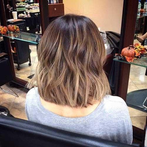 A maioria das tendências de longo penteados bob