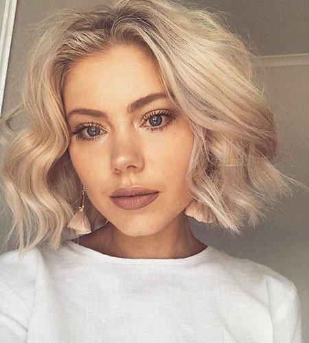 Novo sem corte bob penteado para mulheres jovens