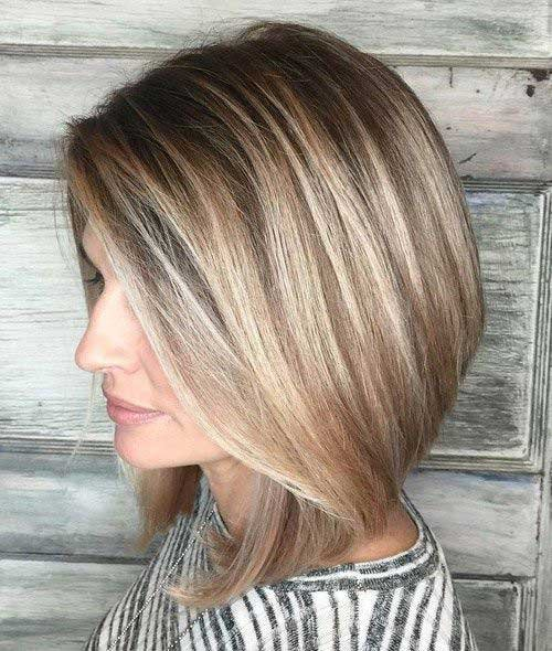 mais recentemente penteados para mulheres