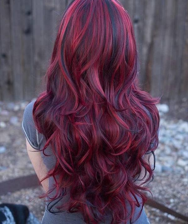 60 Sexy Borgonha Penteados para Mulheres
