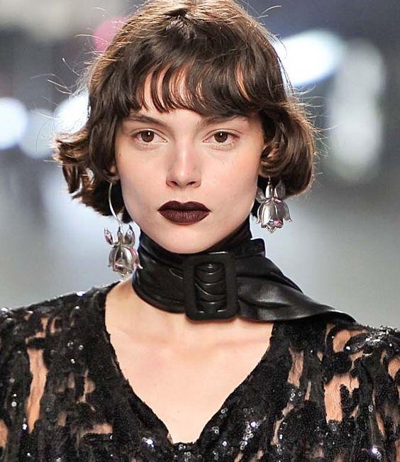 5 Modelo de Passarela Cortes de cabelo para um Chicer Olhar