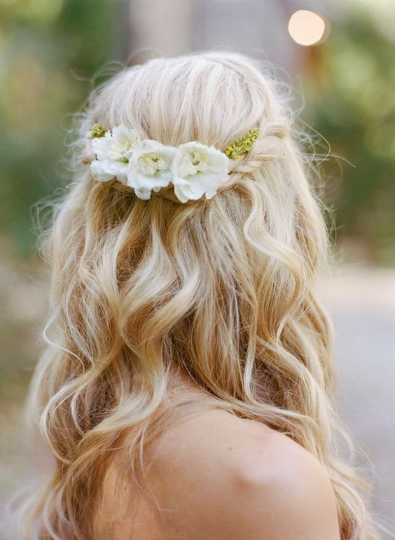 floral trança