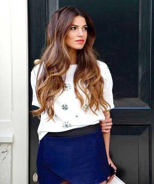 21+ Bonito Corte de cabelo para Cabelos Longos