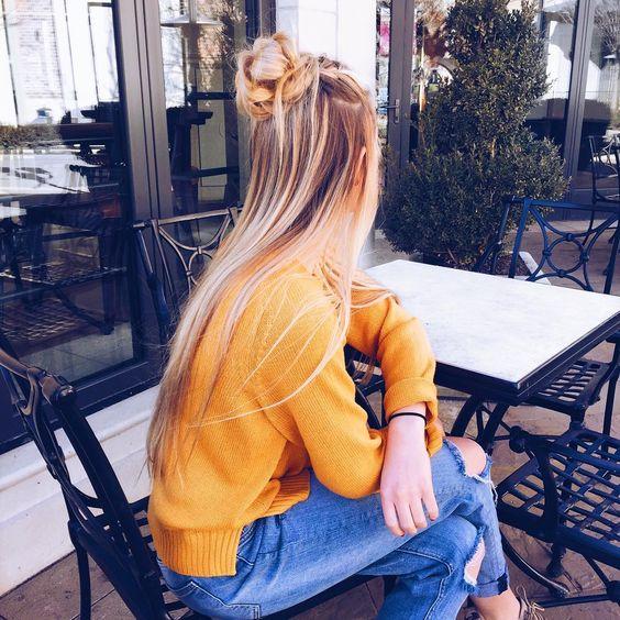 6 Instagram Penteado Ideias