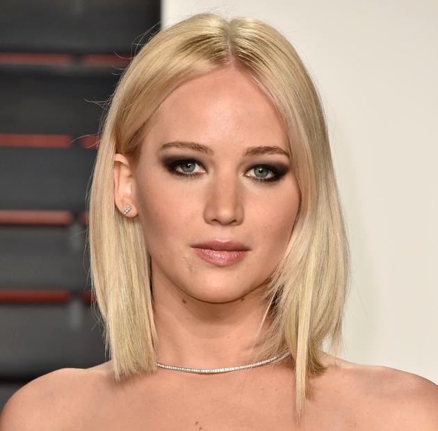 Oscar 2016 Festa Penteados Jennifer Lawrence