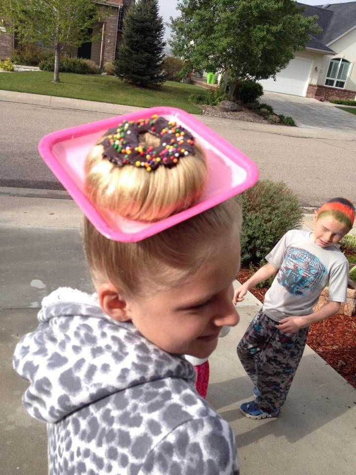 Melhores idéias para penteados loucos para meninas e meninos