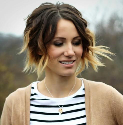 Novos e inspiradores penteados ondulados Bob de 2018 para meninas