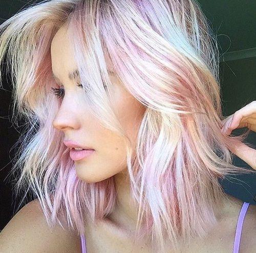 Cool Hair Shades para a temporada de verão 2018