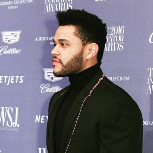 The Weeknd Novo corte de cabelo