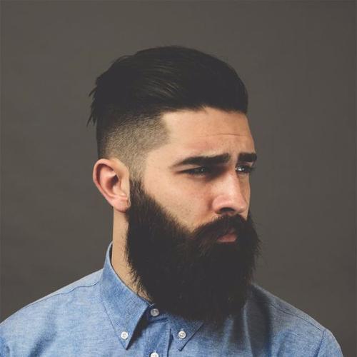 50 pente elegante sobre penteados para homens