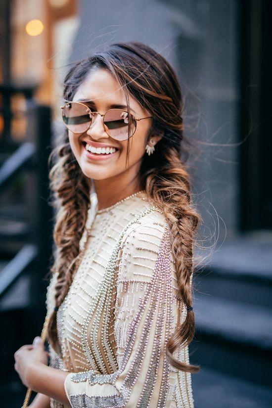 Fácil de fazer penteado para a temporada de primavera