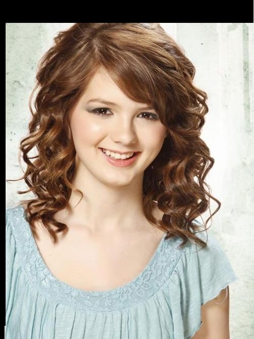 Idéias de penteado encaracolado para adolescentes & meninas da escola