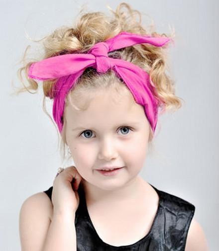 Headbands elegantes para dar aparência bonita para pequenas meninas