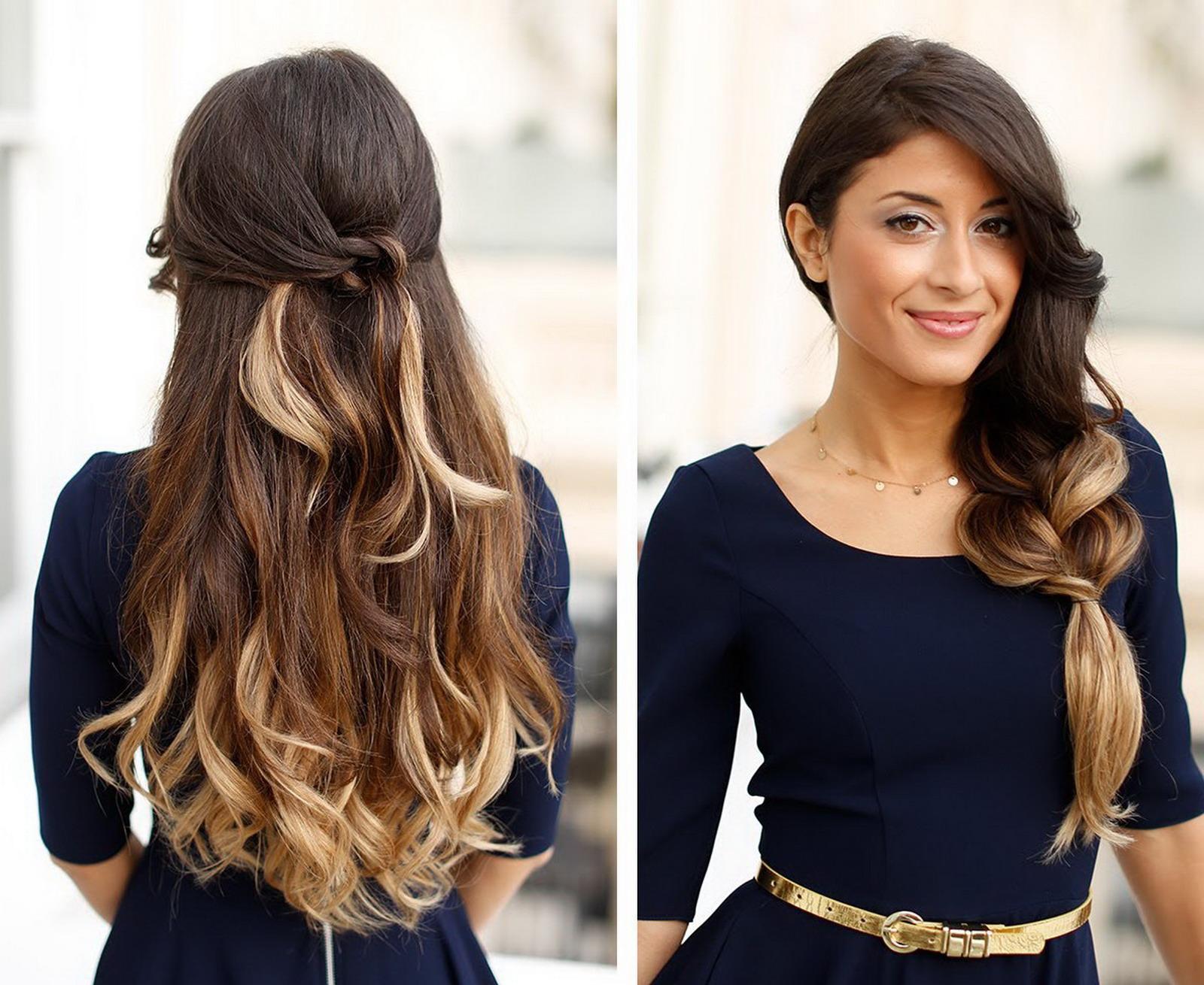 Idéias de penteados glamourosas para coquetel