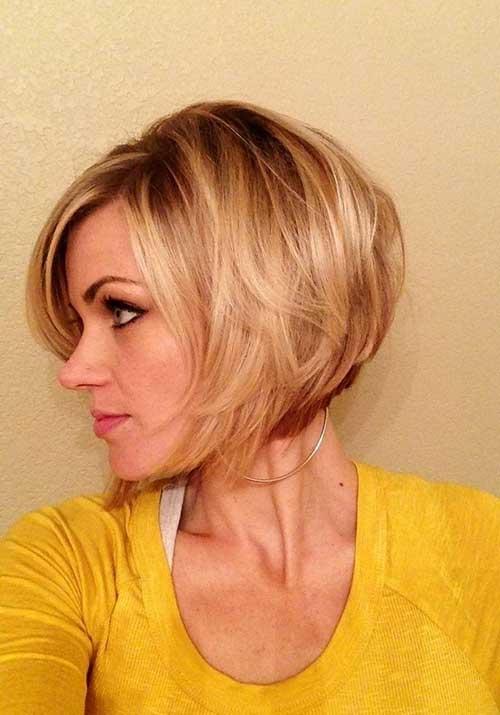 Idéias de corte de cabelo bem Bob para jovens e velhos, mas moda consciente senhoras