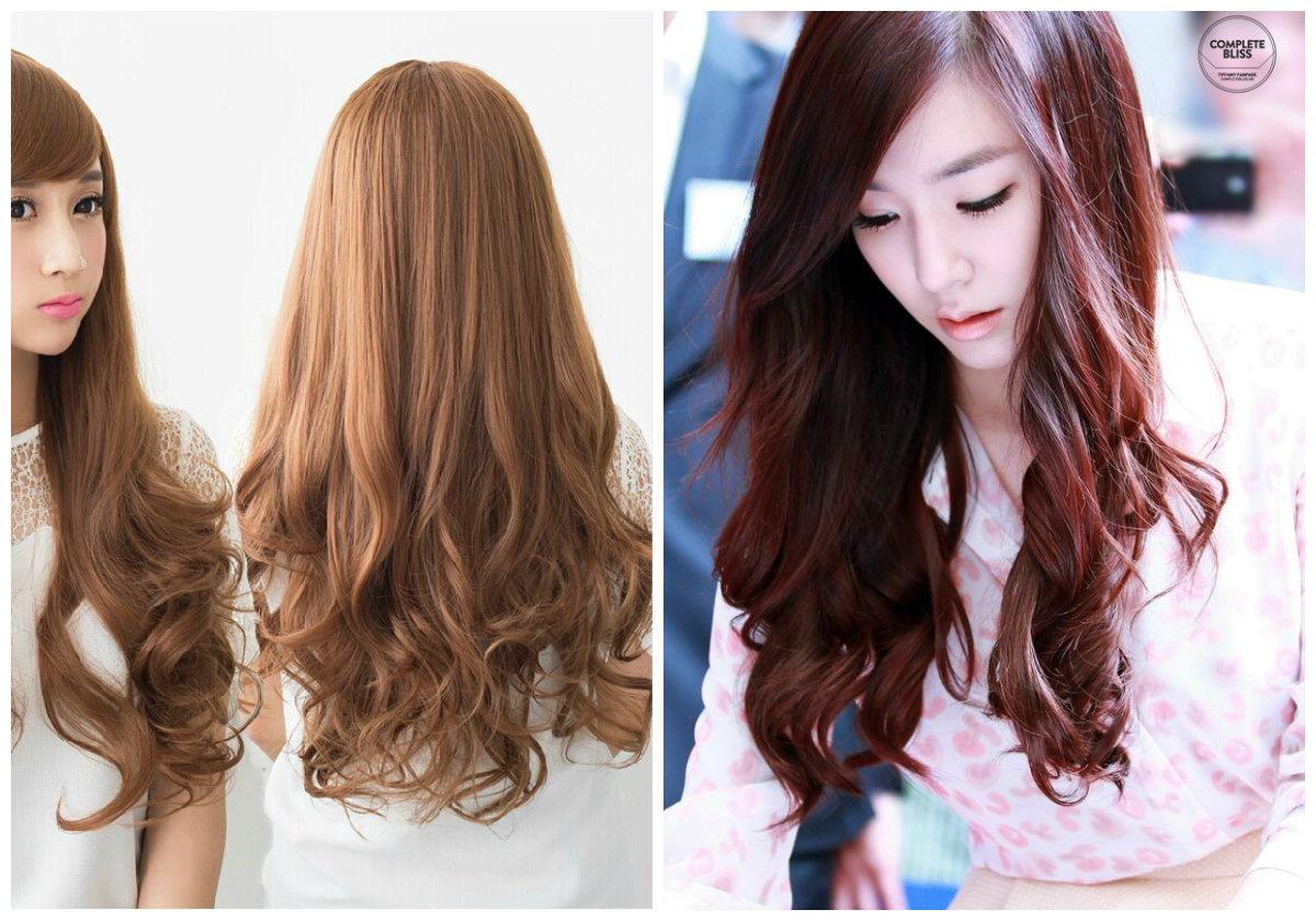 Idéias exclusivas de corte de cabelo coreano com franja