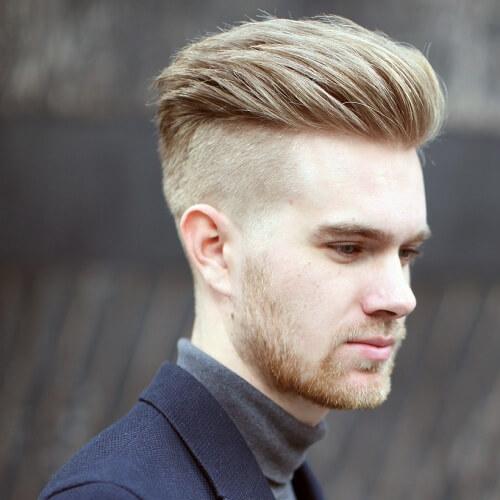 50 penteados loiros para homens
