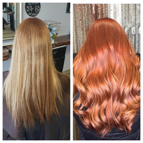 89 Idéias de cor de cabelo de cobre na moda e bonita