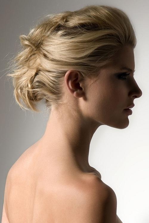 Penteados de festa mais bonita para cabelo de comprimento médio
