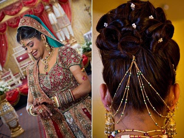 Penteados de noiva indiano incrível para casamentos populares