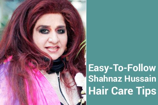 Profissionais Herbalist Shahnaz Hussain Dicas para cabelos longos, saudáveis e volumosos