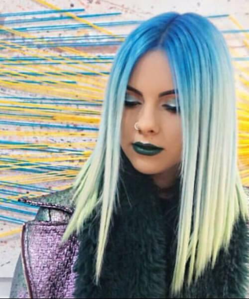 50 ideias inspiradas do cabelo de Ombre