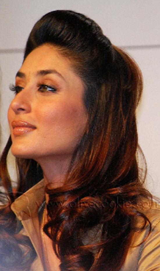 Melhores penteados de Bollywood atriz Kareena Kapoor