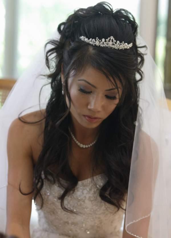 Tiara De Casamento Perfeito Para Diferentes Tipos De Penteados