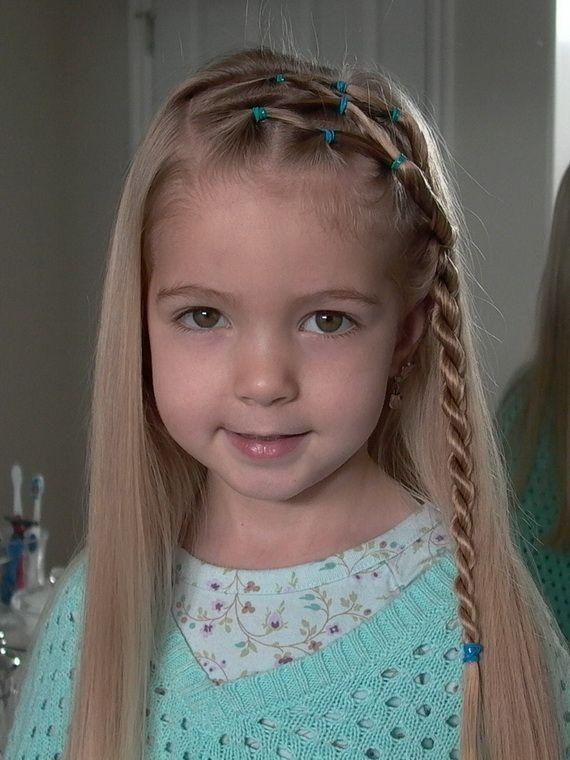 Idéias maravilhosas penteados criativos para meninas mais jovens