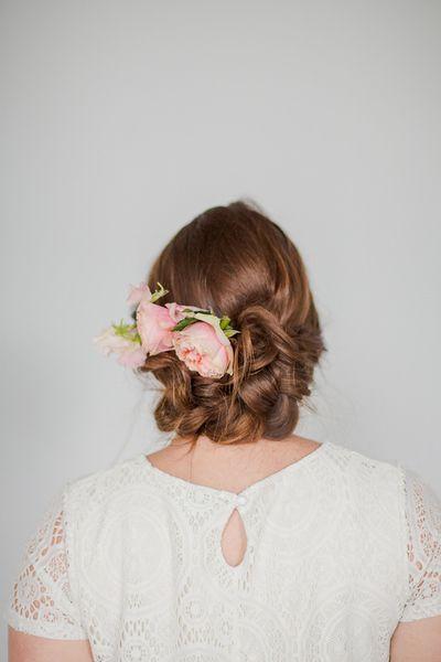 Idéias de noivas penteado por Diy