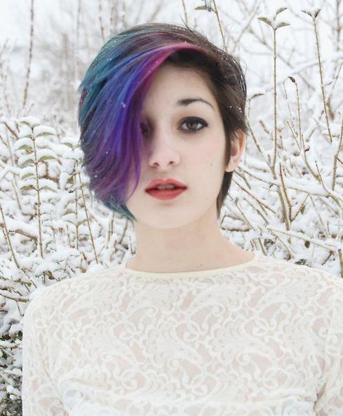Dicas de estilo e idéias para cabelos curtos Emo Girl