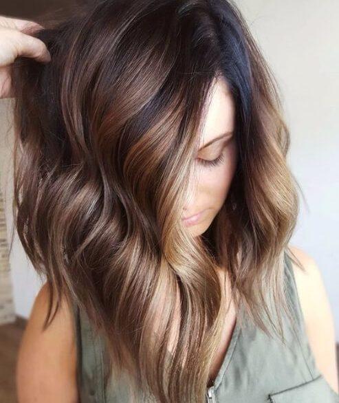 50 cores de cabelo esplêndida queda