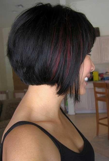 Fotos de diferentes tipos de cortes de cabelo Bob para meninas e velhinhas