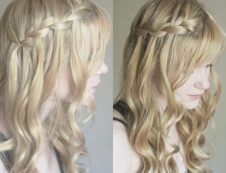 Princesa romântica penteado idéias para noivas e meninas