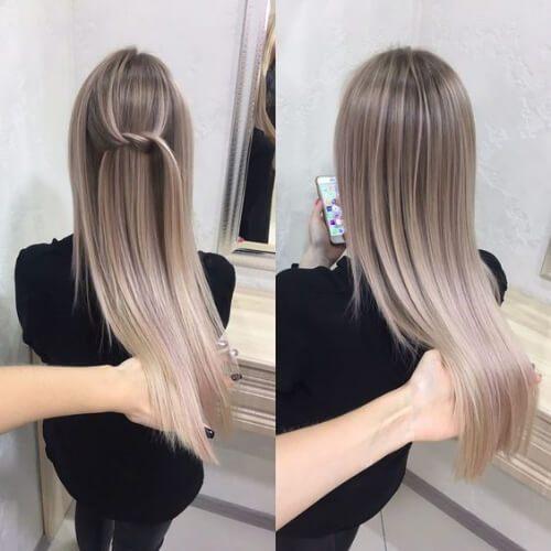 50 penteados loiros contemporâneos