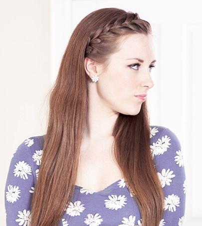 Idéias de penteados de meninas bonitas e românticas para o primeiro encontro