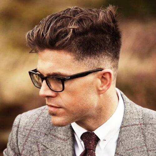 50 penteados casuais de negócios para homens
