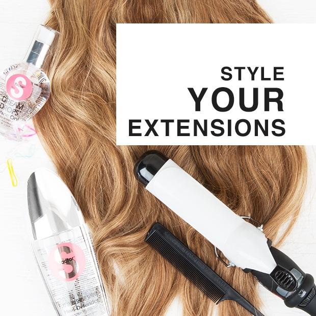 Idéias diferentes do estilo das extensões do cabelo para mulheres bonitas:
