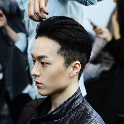 Estilo de cabelo limpo e bem cuidado