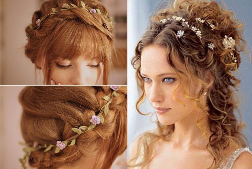 Penteados de dama de honra incríveis e bonitos para cabelos curtos 2018