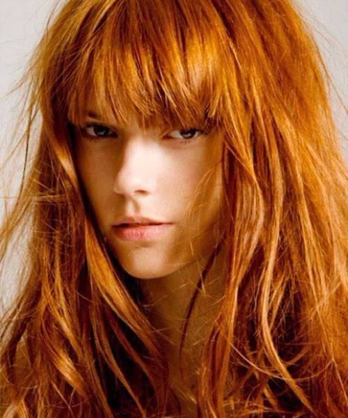 45 cabelo longo soberba com recomendações de franja